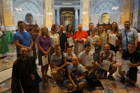 Fietstocht naar Rome
