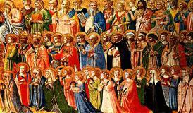 Allerheiligen-Vieringen in onze kerk: Vrijdag: 18.00 u. Zaterdag:  8.00 u. en 11.00 u. in het Pools, Zaterdag: 9.30 u., 12.15 u. en 17.00 u.