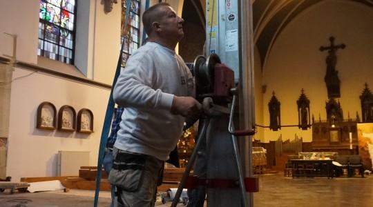 Renovatie van de kerk