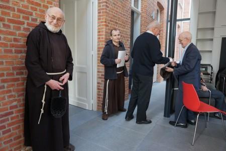 Zegening van het klooster in Meersel Dreef