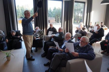 Inzegening vernieuwd kapucijnenhuis te Meersel dreef